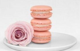 Rose Macarons Order Online Bangalore. Cafe Hops Rose Macarons Online Delivery in Bangalore.